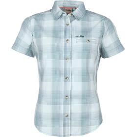 High Colorado Valletta - Camiseta manga corta Mujer - verde/blanco
